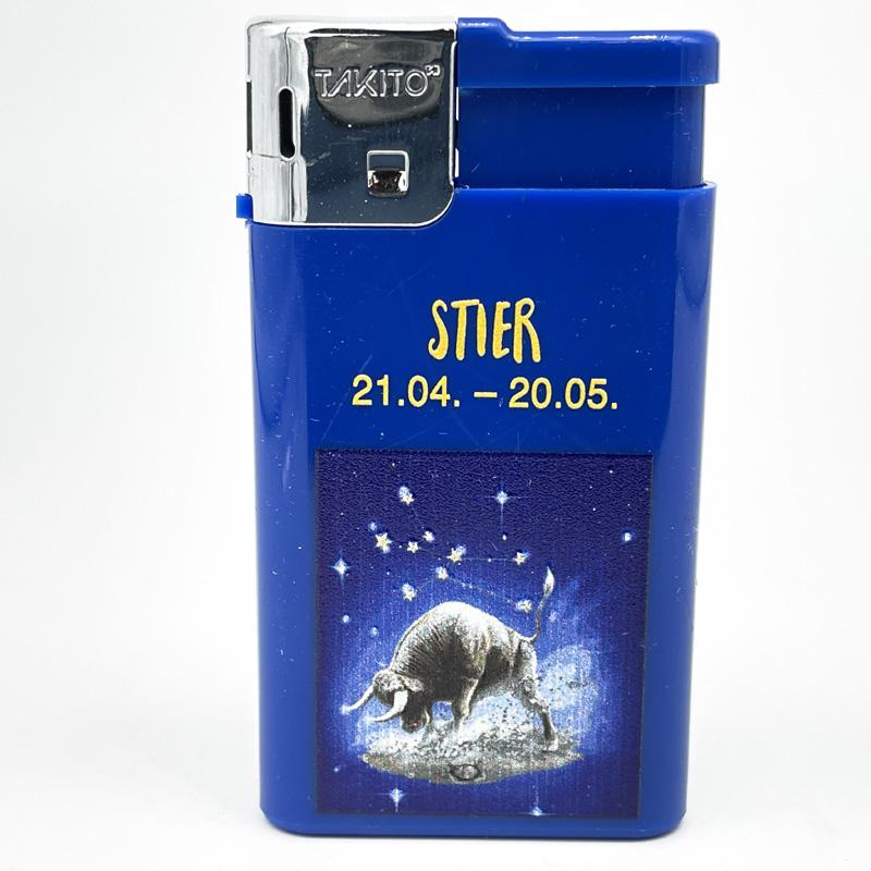 Takito Elektrofeuerzeug Serie Sternzeichen Motiv Stier