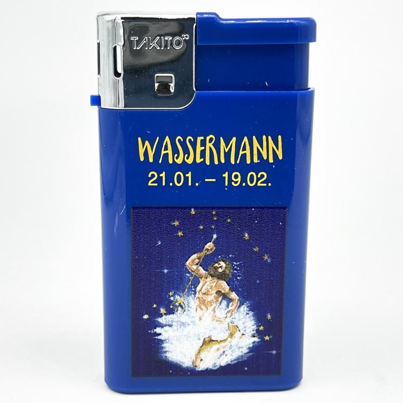 Takito Elektrofeuerzeug Serie Sternzeichen Motiv Wassermann