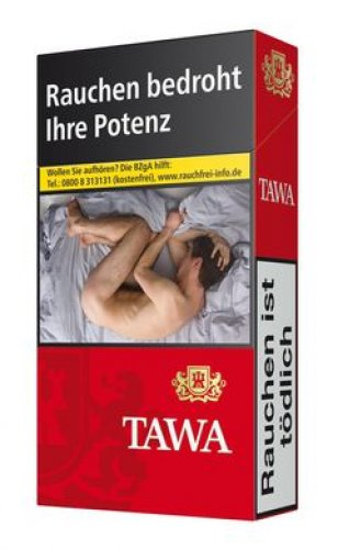 Tawa Red 100 Long Zigaretten (10x20)