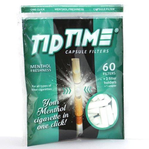 Tip Time Menthol-Kapsel Zigarettenspitze 60 Stück