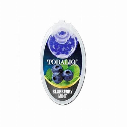 Tobaliq Blueberry Mint Aromakapseln 1x100 Stück mit Stick