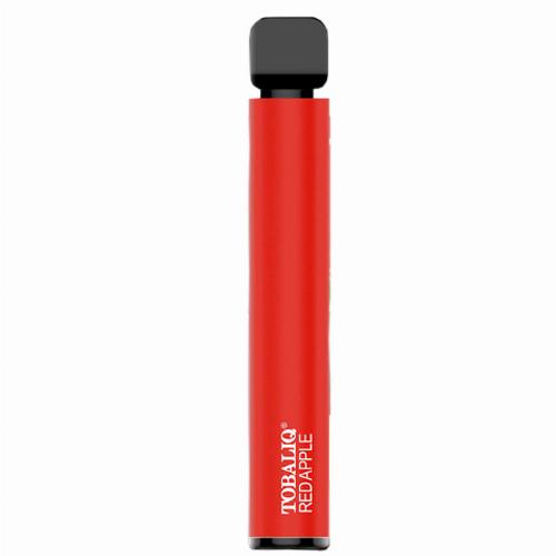 Tobaliq Einweg E-Shisha Red Apple 800 Züge ohne Nikotin