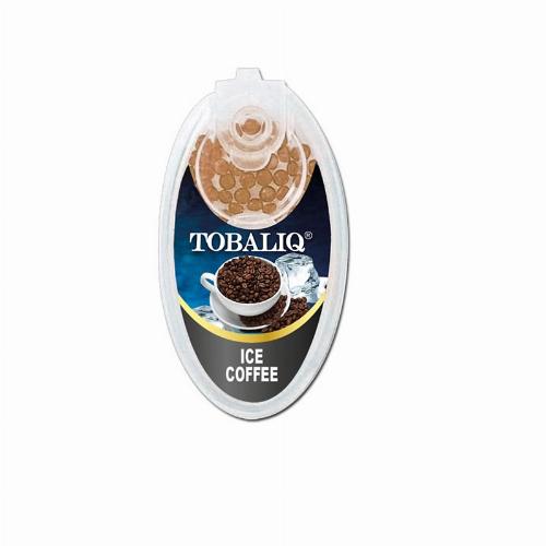 Tobaliq Ice Coffee Aromakapseln 1x100 Stück mit Stick