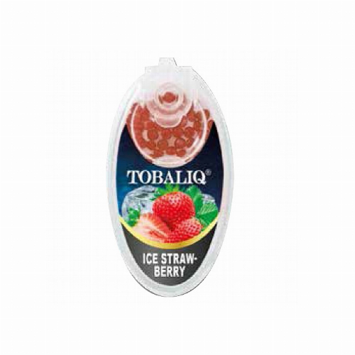 Tobaliq Ice Strawberry Aromakapseln 1x100 Stück mit Stick