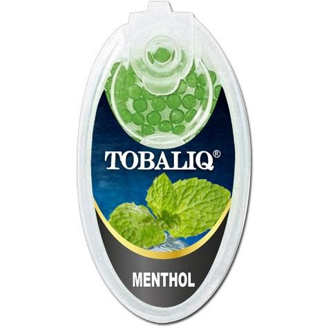 Tobaliq Menthol Aromakapseln 1x 100 Stück mit Stick