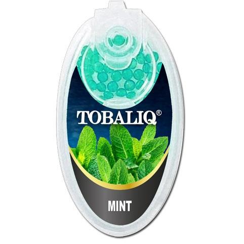 Tobaliq Mint Aromakapseln 1x 100 Stück mit Stick