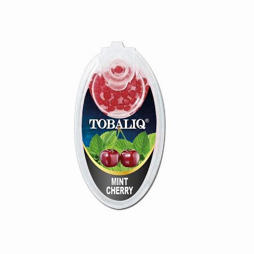 Tobaliq Mint Cherry Aromakapseln 1x100 Stück mit Stick