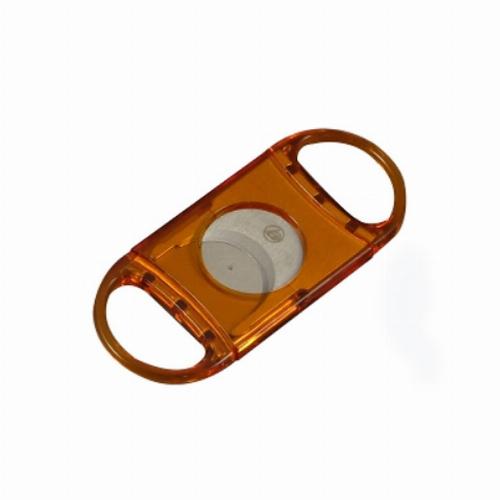 Top Cut Zigarrenschneider 23mm Acryl Orange