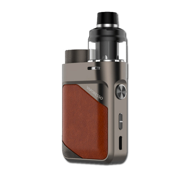 Vaporesso SWAG PX80 Kit Leather-Brown