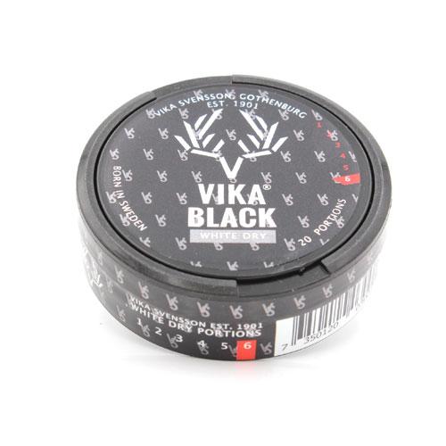 VIKA Black White Dry Kautabak 13g