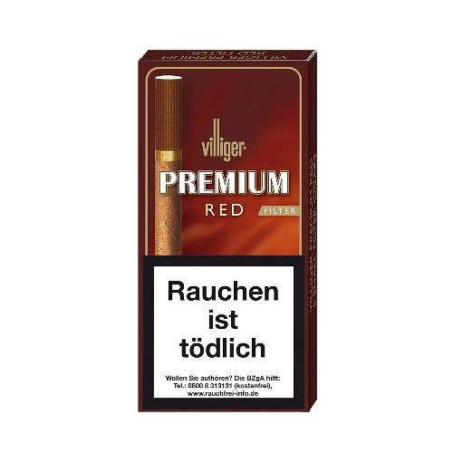 Villiger Premium Red Filter Cigarillos 5er