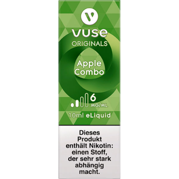 Vuse Bottle Apple Combo 6mg Liquid