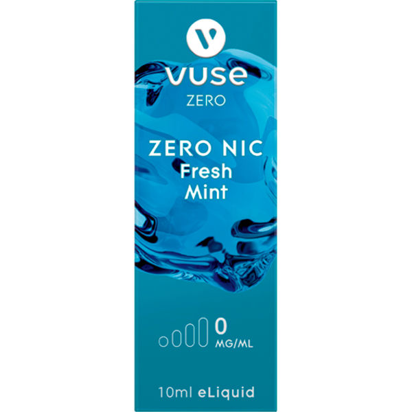 Vuse Bottle Fresh Mint 0mg Liquid