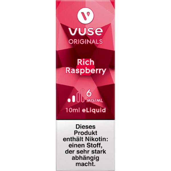Vuse Bottle Rich Raspberry 6mg e-Liquid