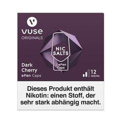 Vuse dark cherry ePen Caps Nic Salts 12mg Nikotin