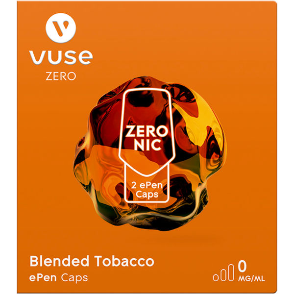 Vuse ePen Caps Blended Tobacco 0mg