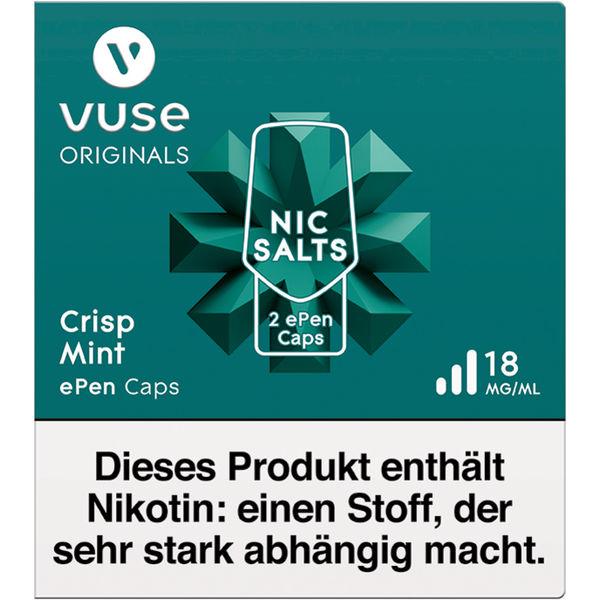 Vuse ePen Caps Crisp Mint 18mg Nikotin