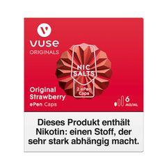 Vuse ePen Caps Original Strawberry 6mg Nic Salts