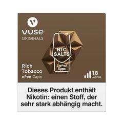 Vuse ePen Caps vPro Rich Tobacco Nic Salts 18mg Nikotin