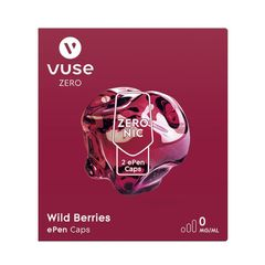 Vuse ePen Caps Wild Berries 0mg