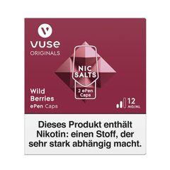 Vuse ePen Caps wild berries Nic Salts 12mg Nikotin