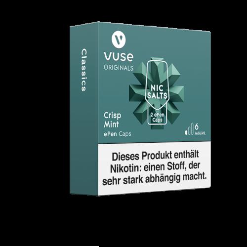 Vuse ePen 3 Caps vPro Crisp Mint 6mg Nikotin