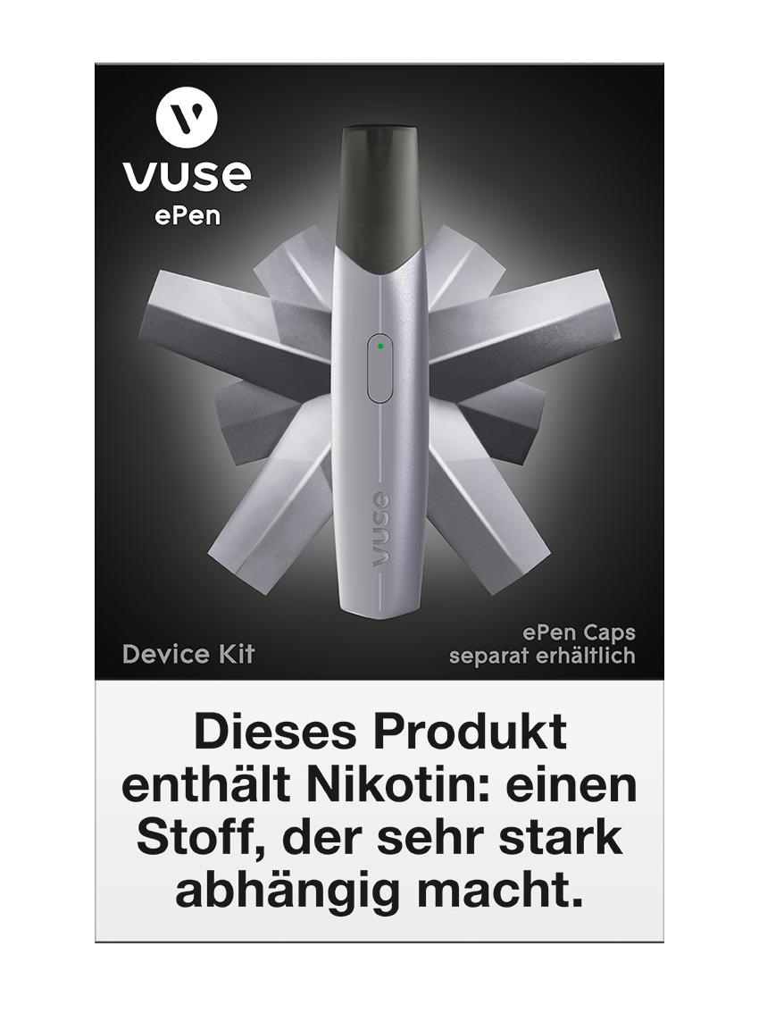 Vuse ePen Starterset silber E-Zigarette