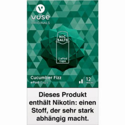 Vuse ePod Caps Nic Salts Cucumber Fizz 12mg