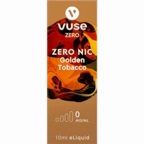 Vuse Golden Tobacco 0mg e-Liquid Zero Nic