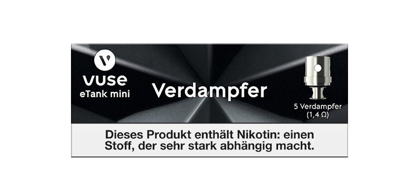 Vuse eTank Mini Verdampfer für Vype e-Zigarette Pro