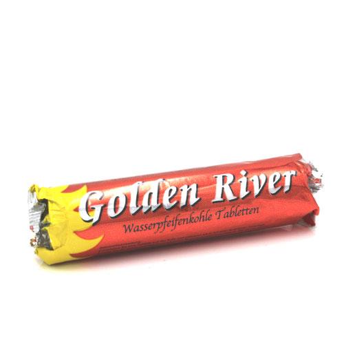 Wasserpfeifenkohle Golden River 1Stk. 33mm