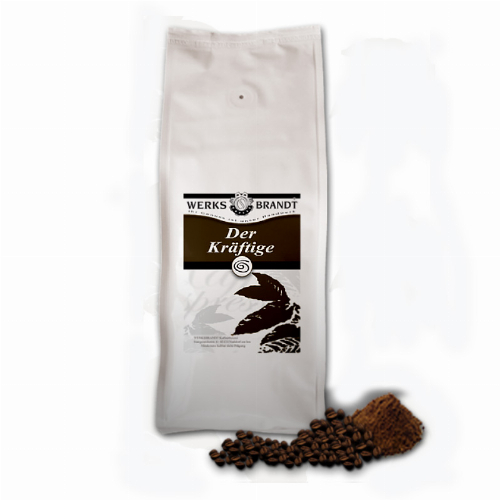 Werksbrandt Kaffee Der Kräftige 1 kg Bohnen