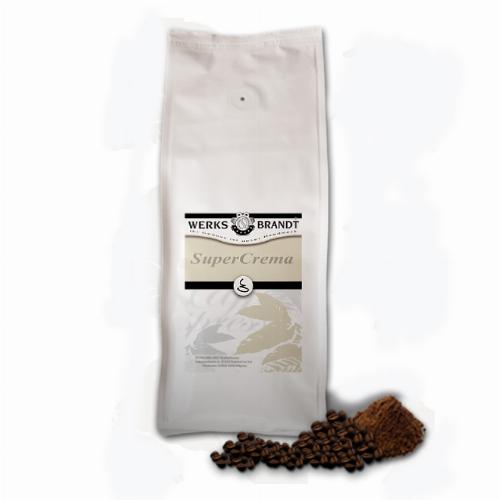 Werksbrandt Kaffee Super Crema 500g Bohnen