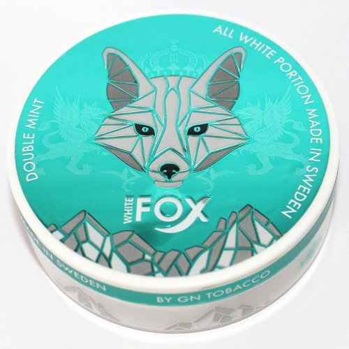 White Fox Double Mint Chewing Bags Nicopads