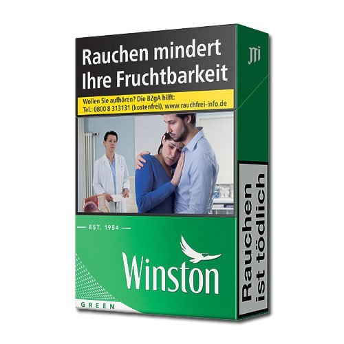 Winston Green (10x20) (ohne Menthol)
