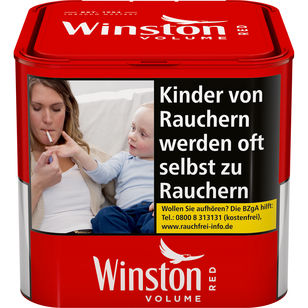 Winston Tabak Rot 42g Dose Volumentabak