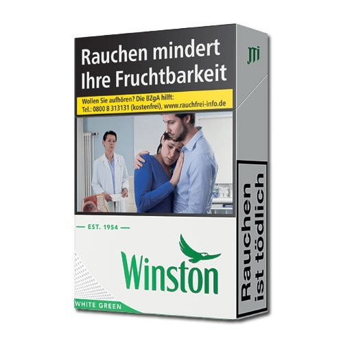 Winston White Green (10x20) (ohne Menthol)