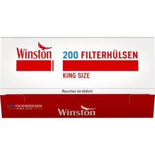 Winston Zigarettenhülsen 200 Stück