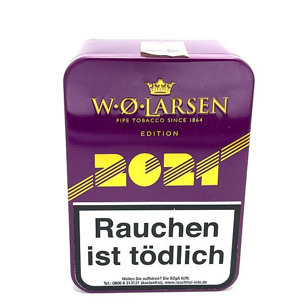 W.O.Larsen Pfeifentabak Edition 2021 100g Dose Jahrestabak