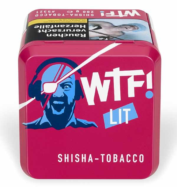 WTF! Shisha Tobacco LIT Blaubeere