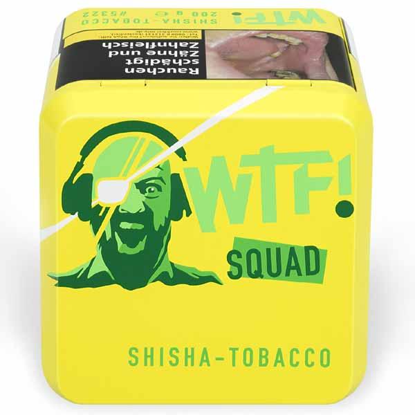 WTF! Shisha Tobacco SQUAD Zitrone