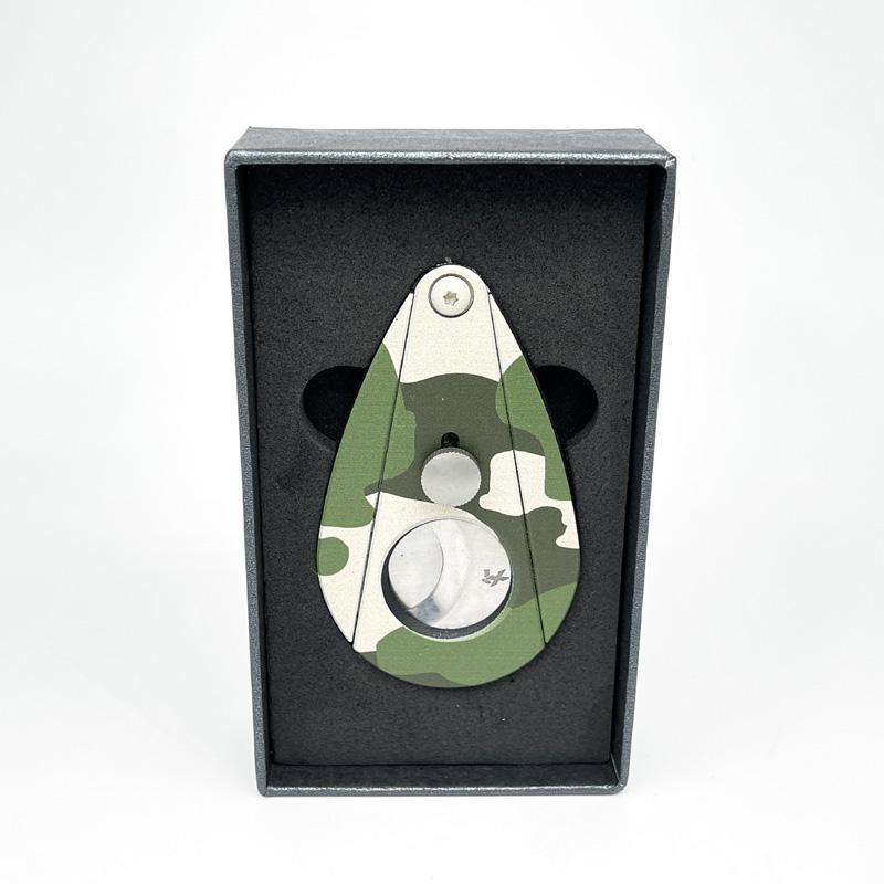 Xikar Xi2 Doppelklingen Cutter Edelstahl Camouflage (Flecktarn) grün Limited Edition