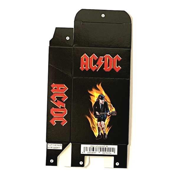 Zigaretten-Faltschachtel ACDC Gitarrist Motiv