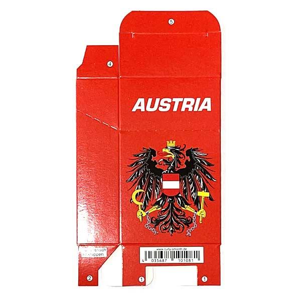 Zigaretten-Faltschachtel Austria Adler Motiv