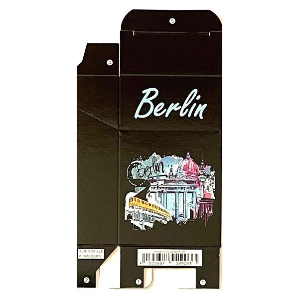 Zigaretten-Faltschachtel Berlin Brandenburger Tor Motiv