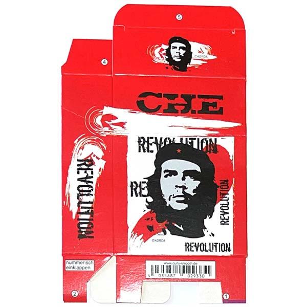 Zigaretten-Faltschachtel Che Revolution Motiv 25er