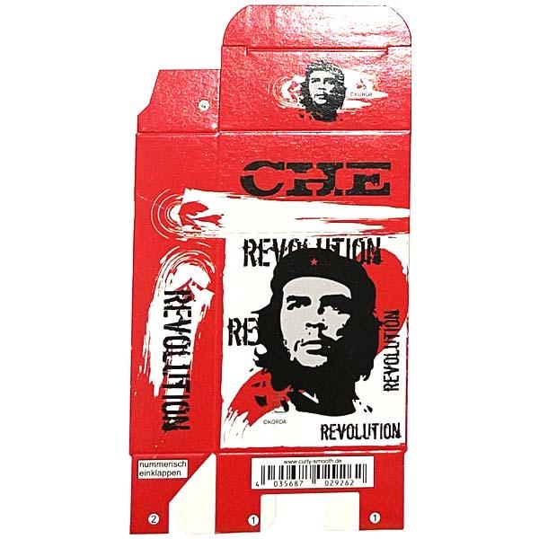Zigaretten-Faltschachtel Che Revolution rot Motiv