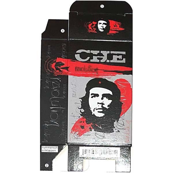 Zigaretten-Faltschachtel Che Revolution schwarz 20er
