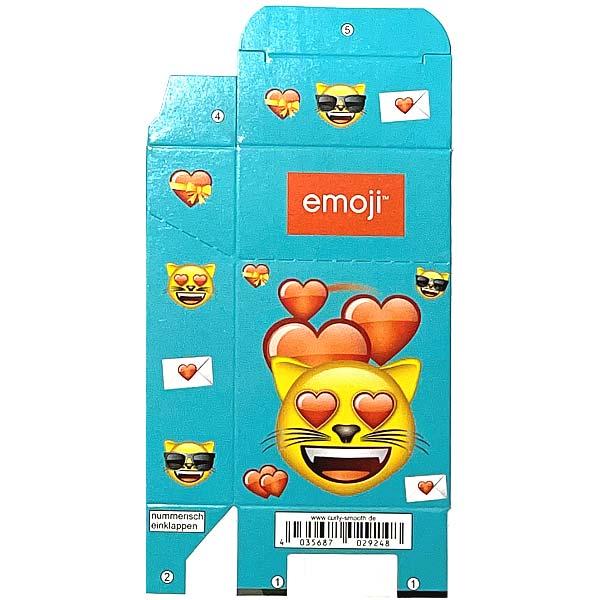 Zigaretten-Faltschachtel emoji Katze Motiv
