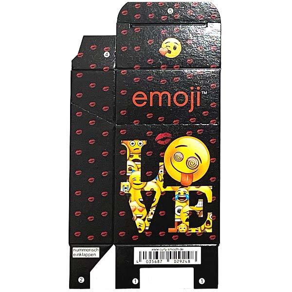 Zigaretten-Faltschachtel emoji Love Motiv